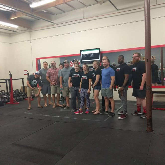 Group picture of all the lifters!